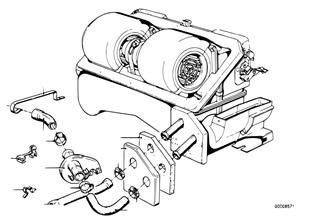 Vodní hadice-čerpadlo-ventil