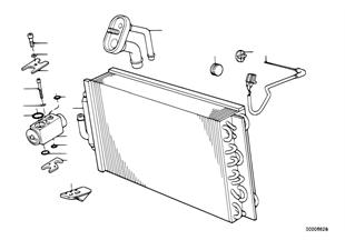 Evaporador/válvula de expansão