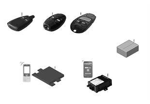 Kit de montage telecde chauffage auxil.