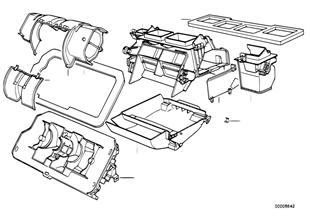 Peças da carcaça da chaufagem Siemens
