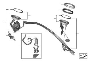 Pompa paliwowa / Czujnik poziomu