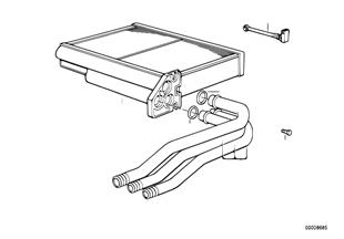Radiador calefacción Siemens/microfiltro
