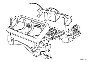 Topné těleso/montážní díly