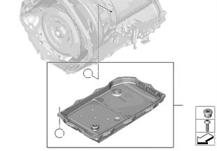 GA8HP50Z coppa dell'olio