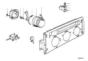 Chaufagem/painel comando AC