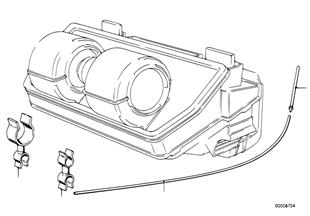 Przewód elastyczny podciśnieniowy