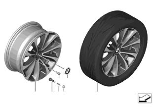 BMW LM ホイール Turbinenstyling 452-18''