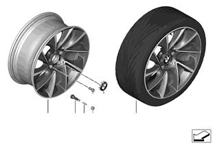 """BMW LM Rad Turbinenstyling 457 — 20"""""""