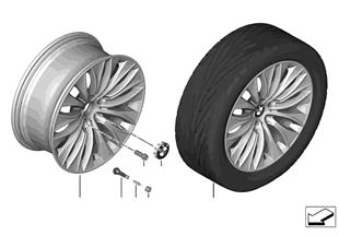 """BMW LM Rad Vielspeiche 459 — 20"""""""