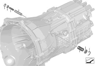 GS6-45BZ/DZ Pièces commande vitesses