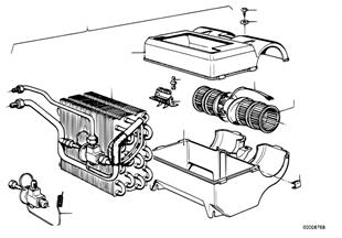 Acondicionador de aire componentes