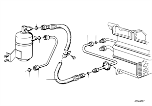 Pressure hose assy