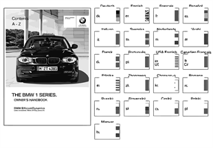Notice d'utilisat. E81, E87 sans iDrive