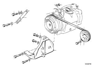 A/C コンプレッサー、取付け部品/ベルト