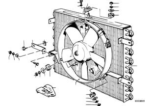 Condensador aire acond./soplador acicion