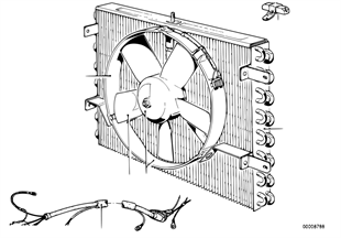 Condensador AC/ ventoinha adic.