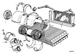Klimatyzator, elementy pojedyncze