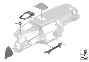 설치부품, 계기판 패널, 위