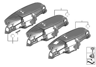 Revestimiento cuadro de instrumentos