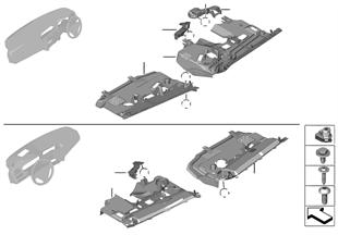 Aanbouwdelen dashboard onder II