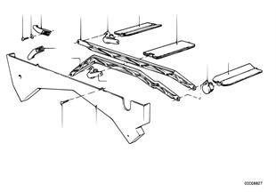Συνδετήρια ράβδος/κλαπέτα