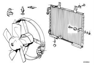 Конденсатор/вентилятор
