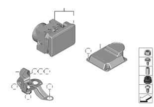 Agregat hydr. DSC/Mocowanie/Czujniki