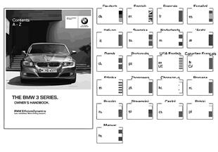 Manual do condutor E90, E91 sem iDrive