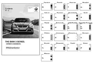 Manual do condutor E90, E91 com iDrive