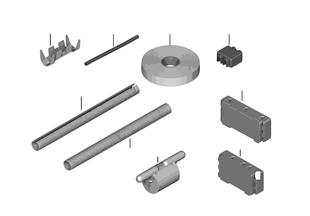 Div. onderdelen, kabelboom reparatie