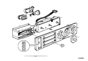 Painel comando AC c/ microfiltro