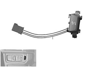 Pulsador cámara de visión nocturna