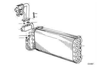 Výparník / expanzní ventil