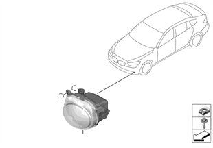 Nebelscheinwerfer LED