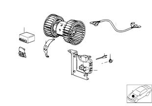 전기부품,에어컨 유닛