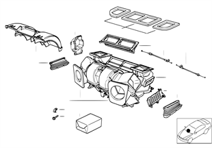 殼體零件 自動空調