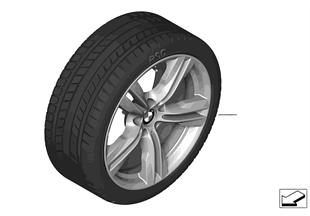 整套冬季車輪 雙輪輻 467M