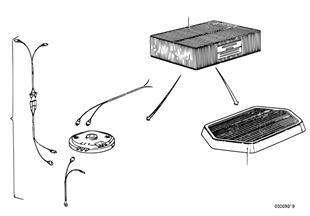 Piezas sueltas sistema estereofonico