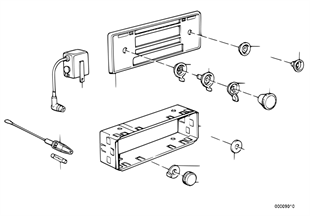 Radio-installation parts