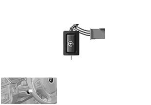 Interruptor, calefacción del volante