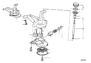 Τροφοδοσία λαδιού/αντλία λαδιού με μοτέρ