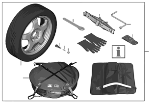 Spare tire system