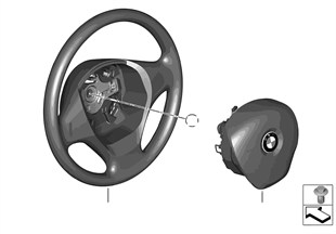 Volante airbag