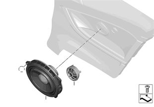 Separate components, speakers, rear