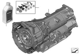 Automatische bak GA8HP45Z — 4WD