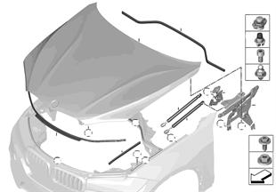 エンジン フード/取付け部品