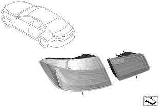 Přestavba koncová světla Facelift