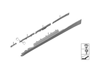 Cache bas de caisse / passage roue