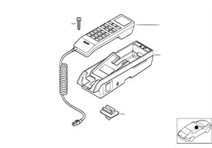 Single parts, SA 629, center console