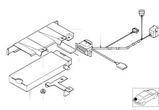 Einzelteile SA 629 Gepäckraum